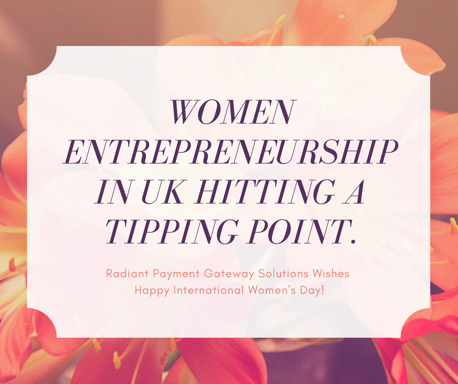 women entrepreneurship in UK