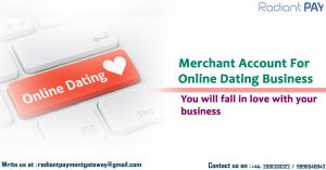 Online dating Merchant Account
