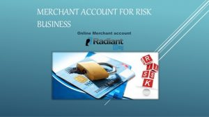 hig risk business